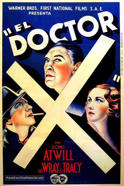 Doctor X - Spanish Movie Poster
