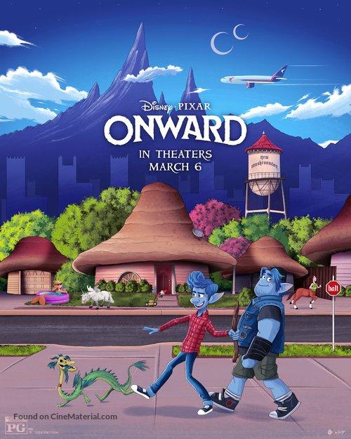 Onward - Movie Poster
