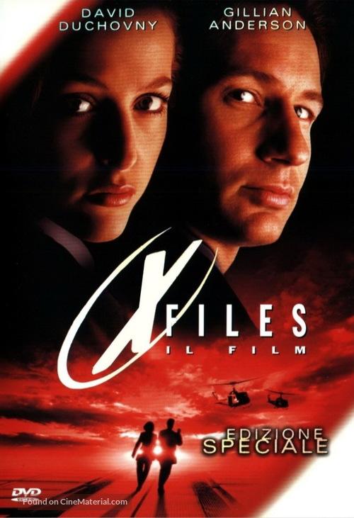 The X Files - Italian Movie Cover