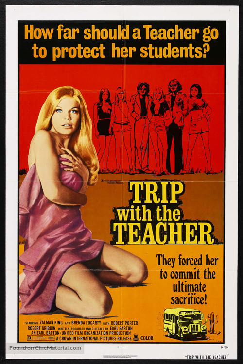 Trip with the Teacher - Theatrical movie poster