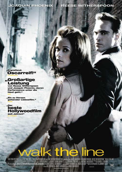 Walk the Line - German Movie Poster