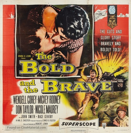 The Bold and the Brave - Movie Poster