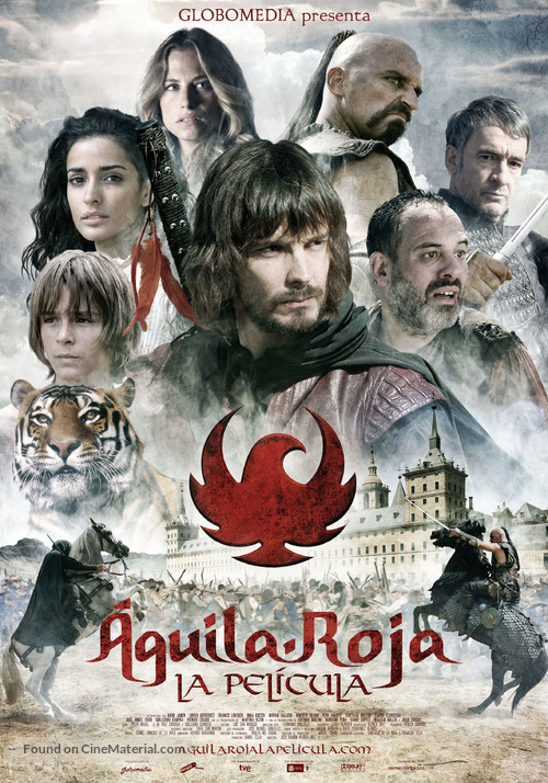 Águila roja, la película - Spanish Movie Poster