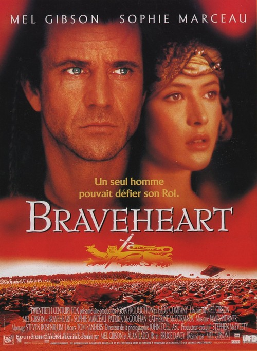 Braveheart - French Movie Poster