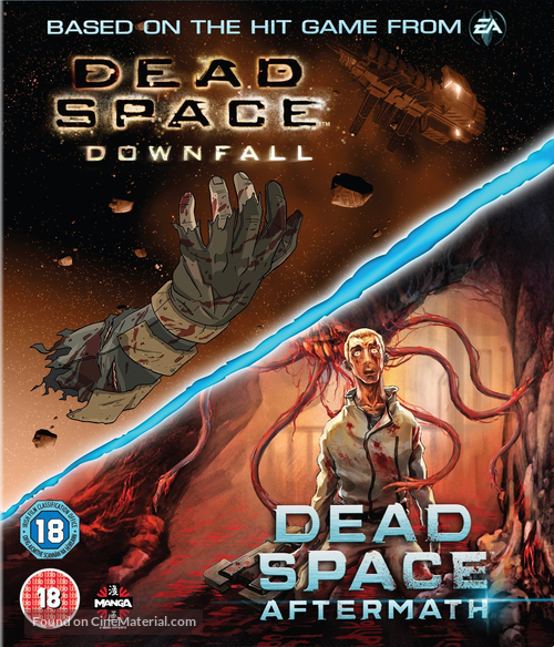 Dead Space Aftermath 2010 British Blu Ray Movie Cover