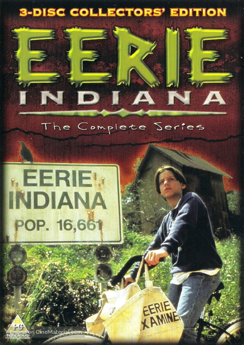 """Eerie, Indiana"" - Movie Cover"
