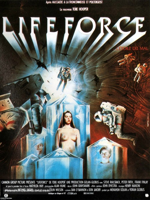 Lifeforce - French Movie Poster