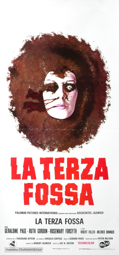 What Ever Happened to Aunt Alice? - Italian Movie Poster