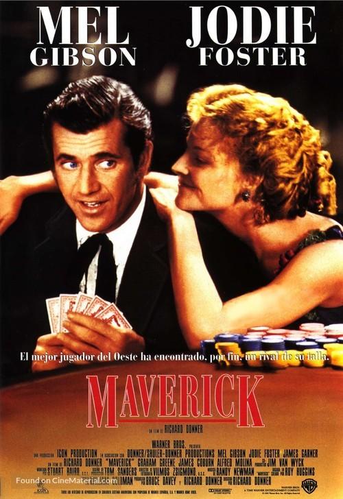 Maverick - Spanish Movie Poster