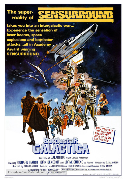 Battlestar Galactica - Movie Poster