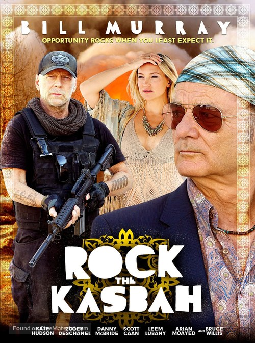 Rock the Kasbah - Movie Cover
