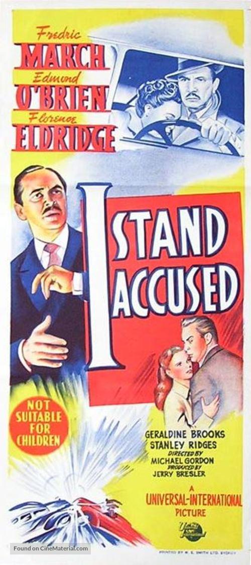 An Act of Murder - Australian Movie Poster