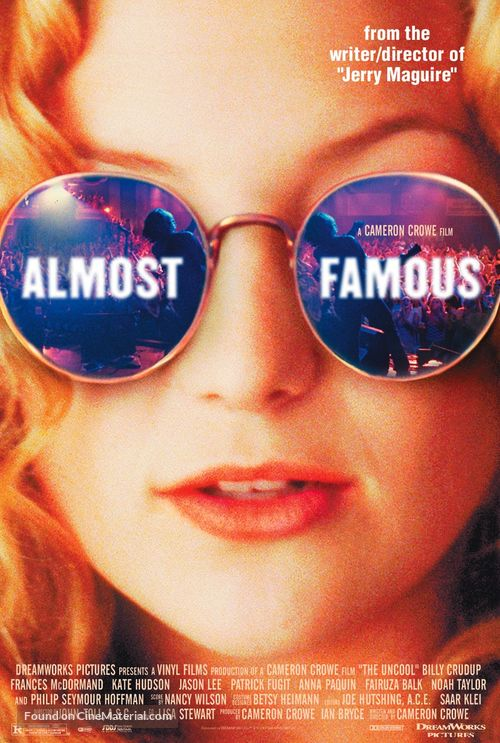 Almost Famous - Theatrical poster
