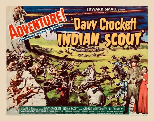 Davy Crockett, Indian Scout - Movie Poster