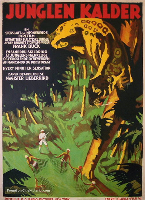 Wild Cargo - Danish Movie Poster