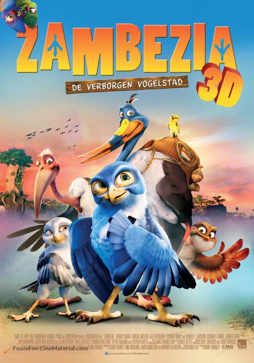 Zambezia - Dutch Movie Poster