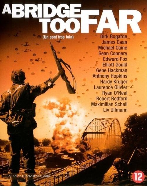 A Bridge Too Far - Dutch Blu-Ray movie cover