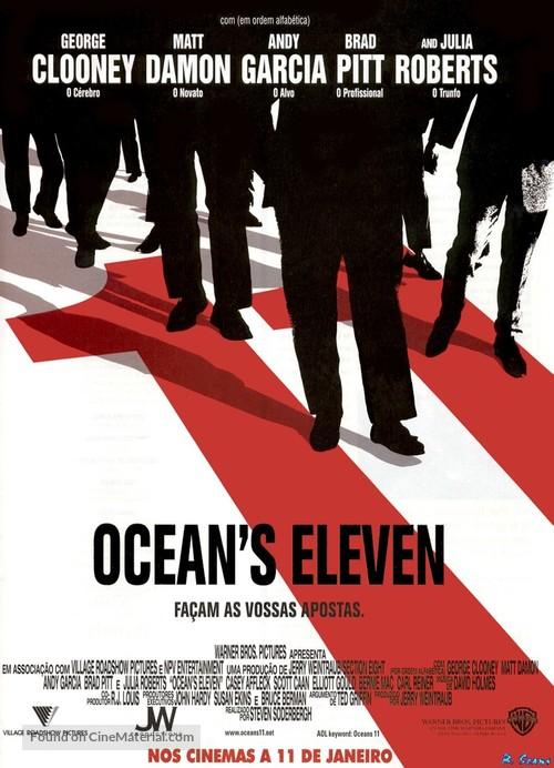 Ocean's Eleven - Portuguese Movie Poster