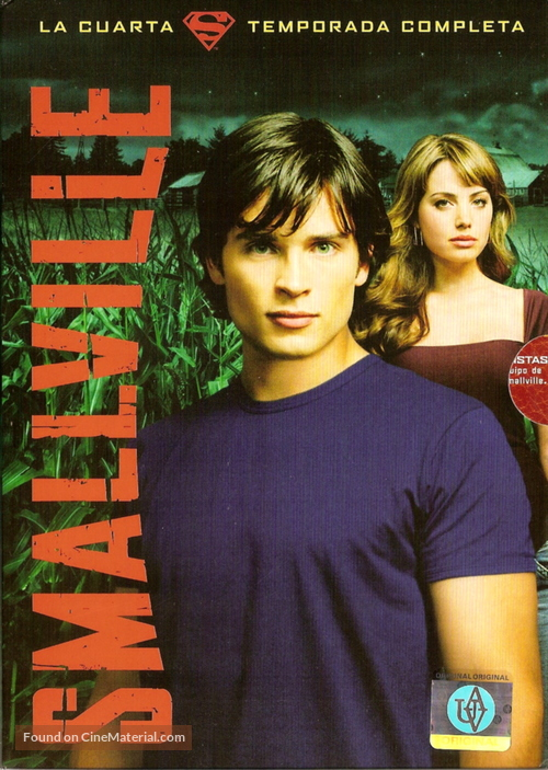 """""""Smallville"""" - Argentinian DVD movie cover"""