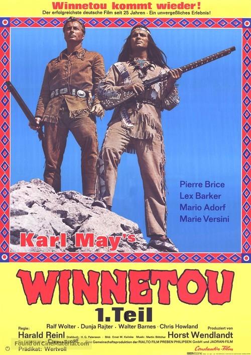 Winnetou Teil 1 Ganzer Film Deutsch