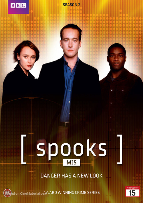 """Spooks"" - Danish DVD movie cover"