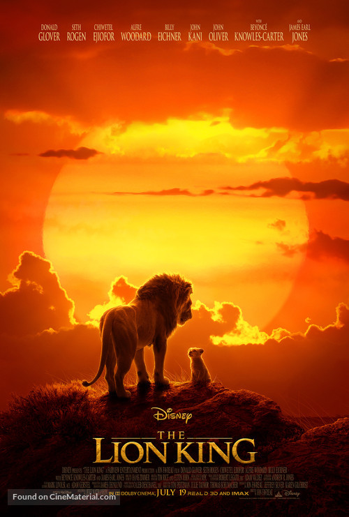 The Lion King - Movie Poster