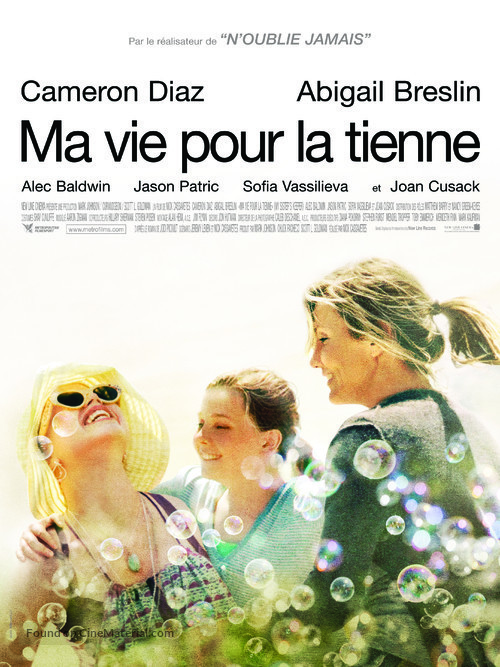 My Sister's Keeper - French Movie Poster