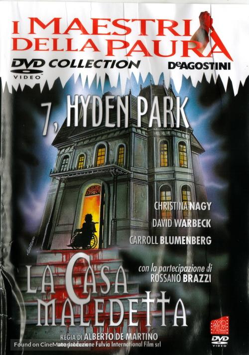 7, Hyden Park: la casa maledetta - Italian DVD movie cover