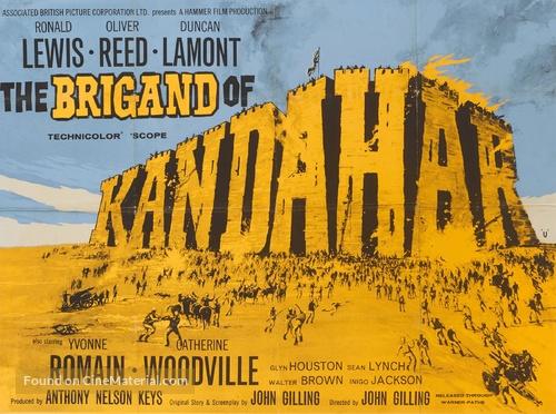 The Brigand of Kandahar - British Movie Poster