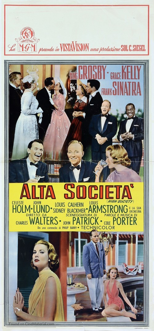High Society - Italian Movie Poster
