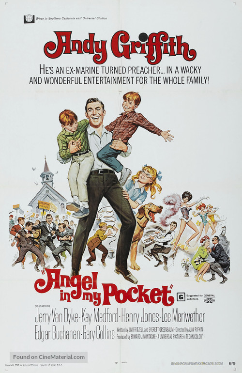 Angel in My Pocket - Movie Poster
