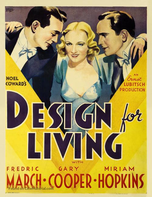 Design for Living - Movie Poster