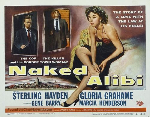 Naked Alibi - Movie Poster
