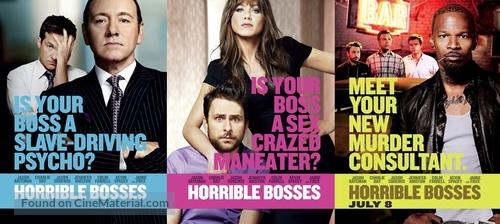 Horrible Bosses 2011 Movie Poster