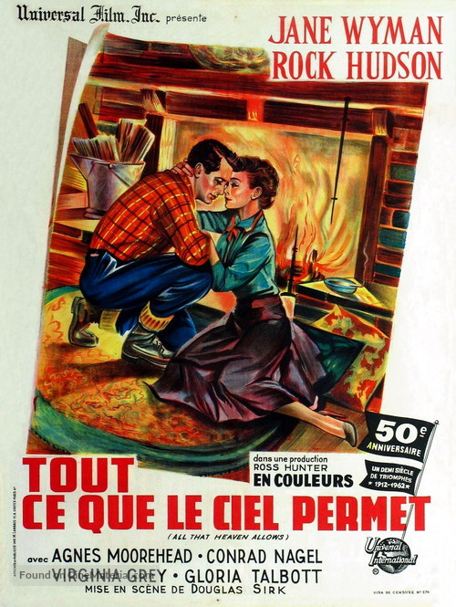 All That Heaven Allows - French Movie Poster