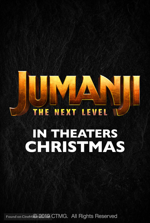 Jumanji: The Next Level - Logo