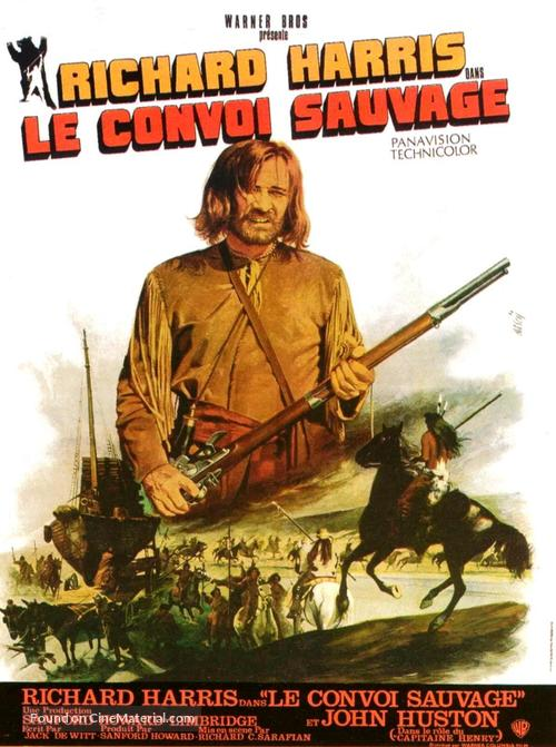 Man in the Wilderness - French Movie Poster