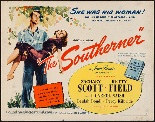 The Southerner - Movie Poster