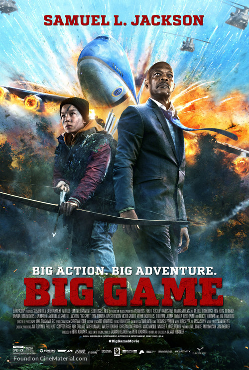 Big Game - Movie Poster