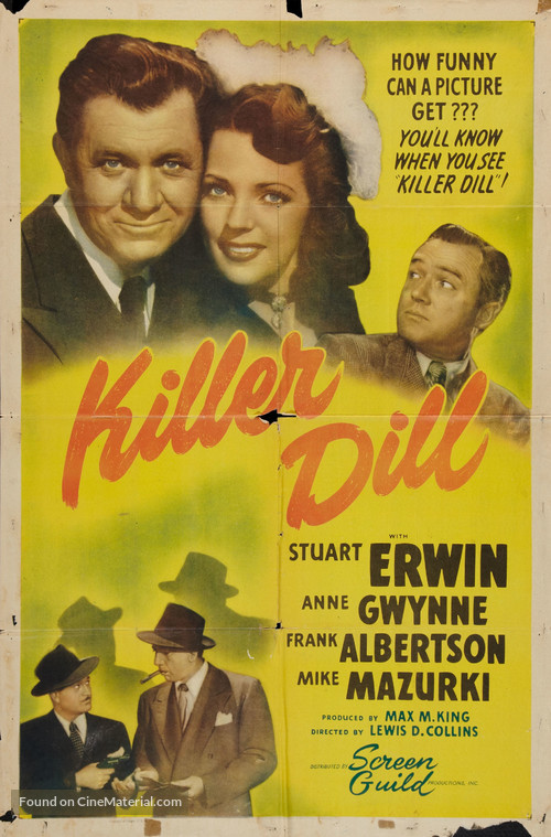Killer Dill - Movie Poster