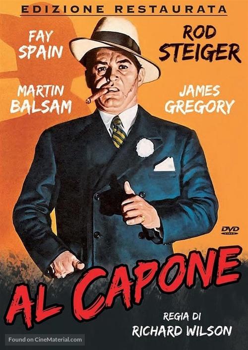 Al Capone - Italian DVD movie cover