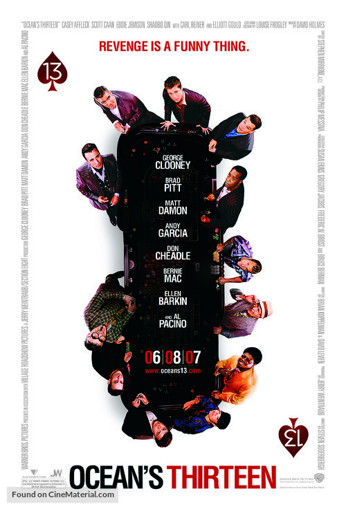 Ocean's Thirteen - Movie Poster