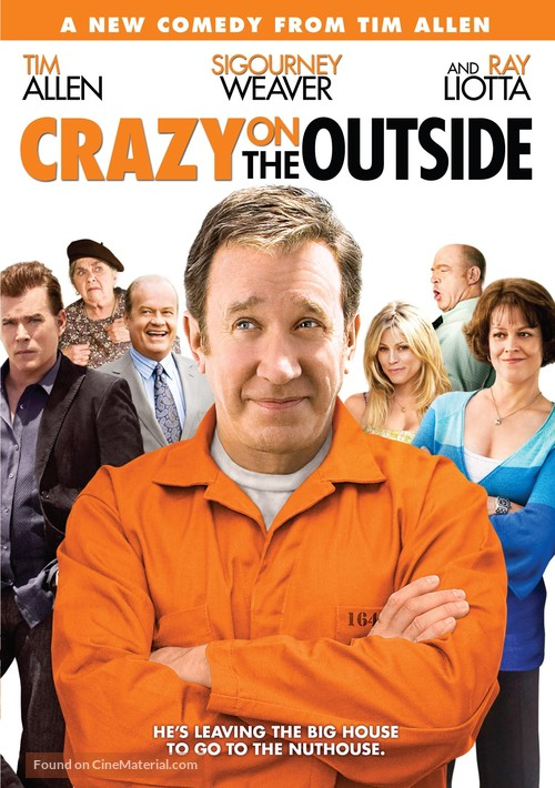 Crazy on the Outside - DVD movie cover