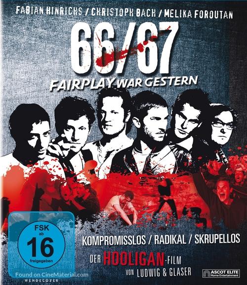 66/67 - German Blu-Ray movie cover