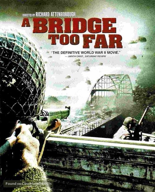 A Bridge Too Far - Blu-Ray cover