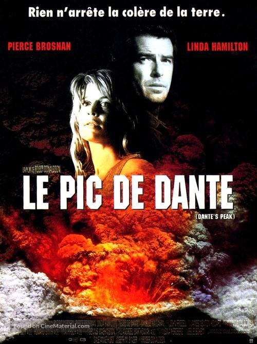 Dante's Peak - French Movie Poster