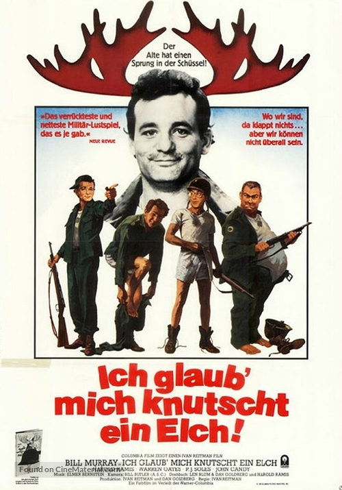 Stripes - German Movie Poster