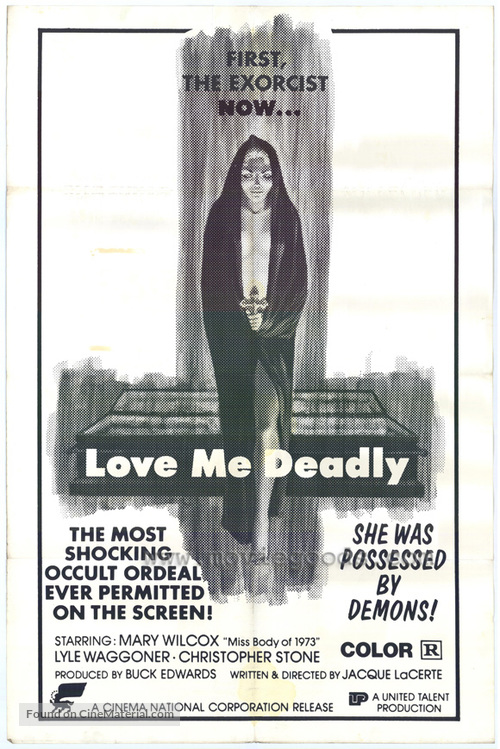 Love Me Deadly - Movie Poster