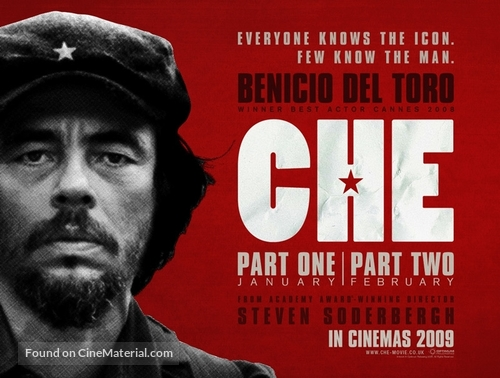 Che: Part Two - British Movie Poster