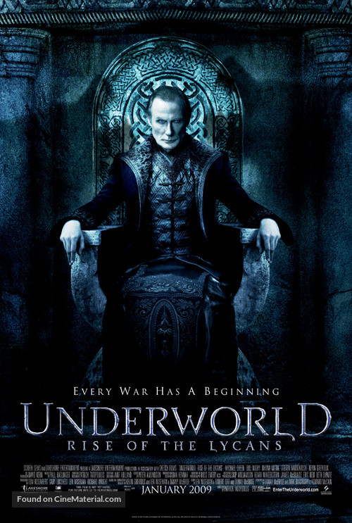 Underworld: Rise of the Lycans - Movie Poster
